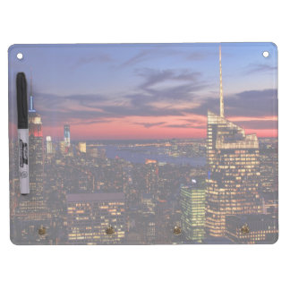 Tribute In Light Sept 11, World Trade Cntr ESB #2 Dry Erase Board With Keychain Holder