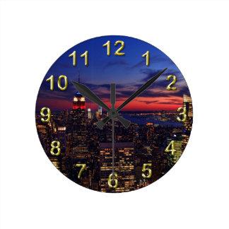 Tribute In Light Sept 11, World Trade Cntr ESB #2 Round Clock