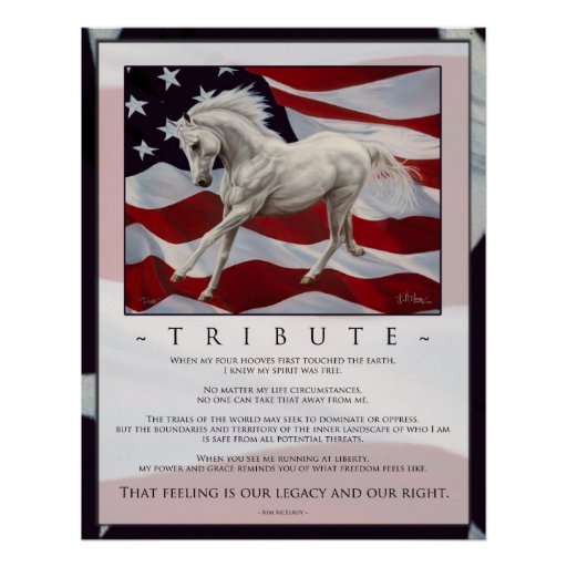 Tribute Inspiration Poster