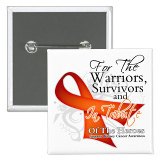 Tribute - Kidney Cancer 2 2 Inch Square Button