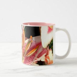 Tribute Lilies  No. 2| Two-Tone Coffee Mug