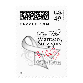 Tribute - Lung Cancer Postage Stamp