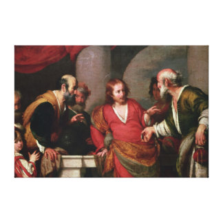 Tribute Money, c.1631 Canvas Print