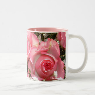 Tribute Roses | Two-Tone Coffee Mug