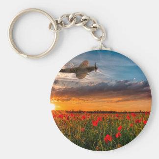 Tribute Spitfire Keychain