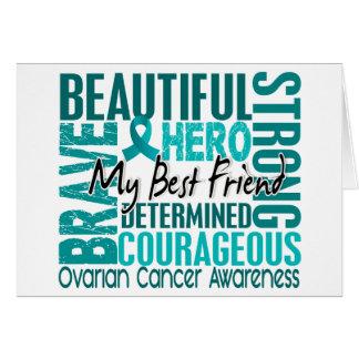 Tribute Square Best Friend Ovarian Cancer Card