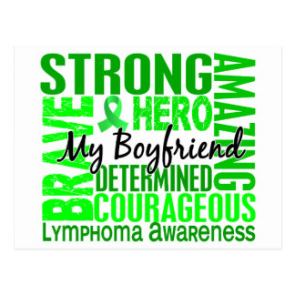 Tribute Square Boyfriend Lymphoma Postcard