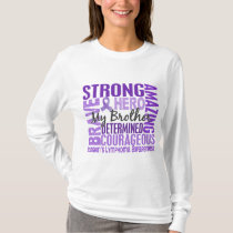 Tribute Square Brother Hodgkins Lymphoma T-Shirt