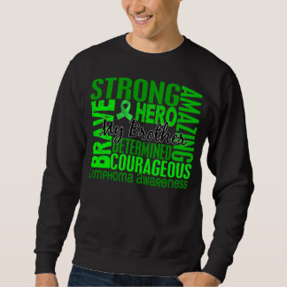 Tribute Square Brother Lymphoma Sweatshirt