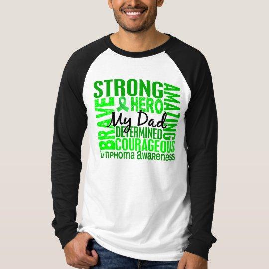 Tribute Square Dad Lymphoma T-Shirt