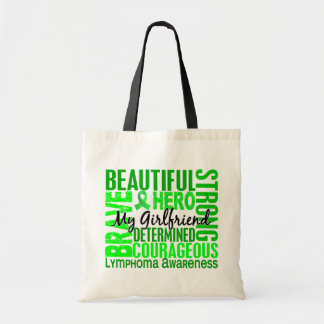 Tribute Square Girlfriend Lymphoma Budget Tote Bag