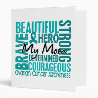 Tribute Square Mom Ovarian Cancer Binder