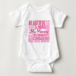 Tribute Square Mommy Breast Cancer Shirt