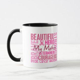 Tribute Square Mother Breast Cancer Mug