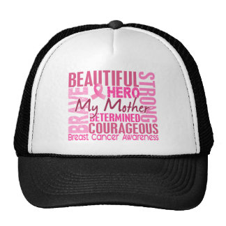 Tribute Square Mother Breast Cancer Trucker Hat