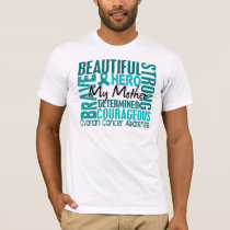 Tribute Square Mother Ovarian Cancer T-Shirt