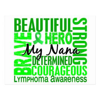 Tribute Square Nana Lymphoma Postcard