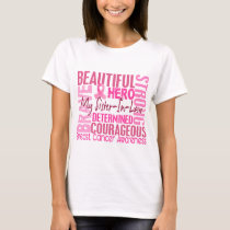 Tribute Square Sister-In-Law Breast Cancer T-Shirt