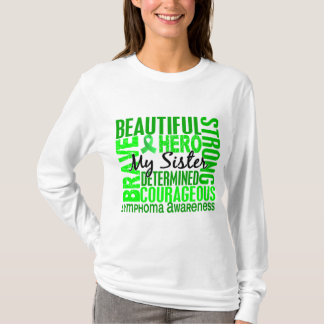 Tribute Square Sister Lymphoma T-Shirt