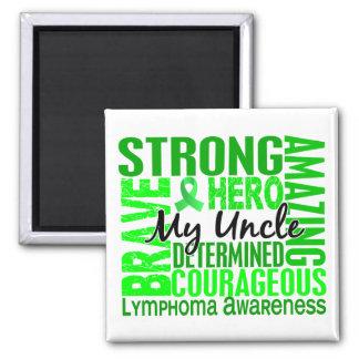 Tribute Square Uncle Lymphoma Magnet