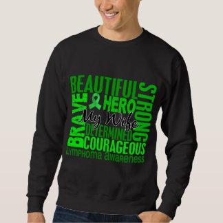 Tribute Square Wife Lymphoma Sweatshirt