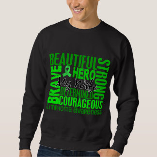 Tribute Square Wife Lymphoma Sweatshirt