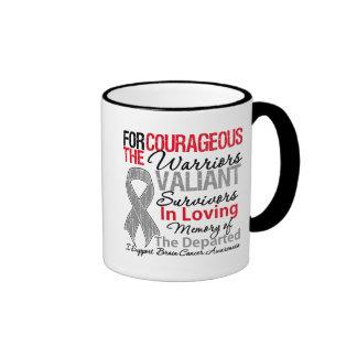 Tribute Support Brain Cancer Awareness Coffee Mug