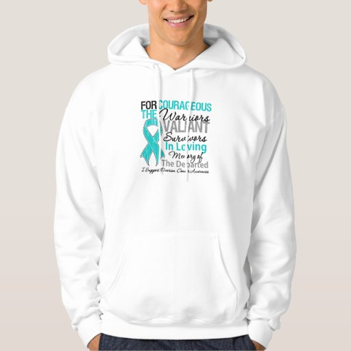 Tribute Support Ovarian Cancer Awareness Hoodie