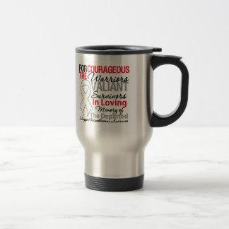 Tribute Support Retinoblastoma Awareness 15 Oz Stainless Steel Travel Mug