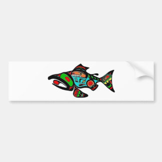 TRIBUTE THE SALMON BUMPER STICKER
