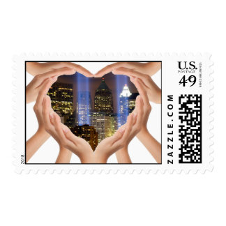 Tribute to 9-11 stamp