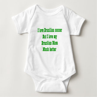 Tribute to a brazilian mom tee shirt
