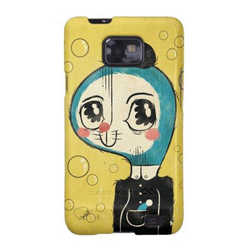 Tribute to Doraemon creator Hiroshi Fujimoto Samsung Galaxy SII Cases
