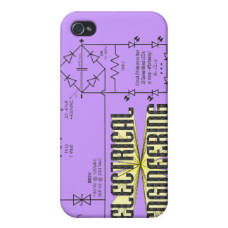 Tribute to Electrical Engineering Cover For iPhone 4