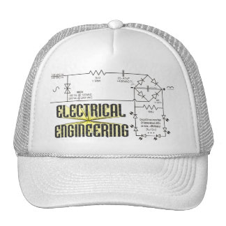 Tribute to Electrical Engineering Mesh Hat