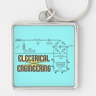 Tribute to Electrical Engineering Keychain