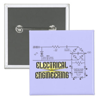 Tribute to Electrical Engineering Pinback Button