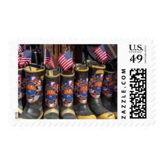 Tribute To Fallen Firefighters In Aspen Stamps