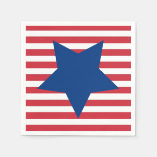 Tribute To Freedom July 4th Party Paper Napkins
