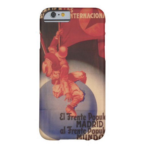 Tribute to International_Propaganda Poster Barely There iPhone 6 Case