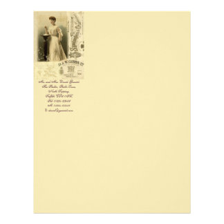 Tribute to Lucia Stationery Letterhead