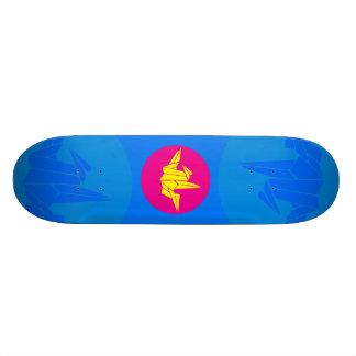 "Tribute to Robert Harbin ""Mr Origami"" Skateboard Deck"