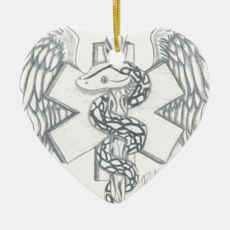 Tribute To The Medical Field Ceramic Ornament