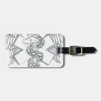 Tribute To The Medical Field Luggage Tag