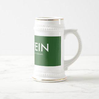 Tributo 1916 de Sinn Fein Stein Tazas De Café