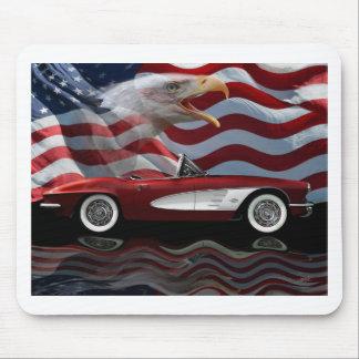 Tributo 1961 del Corvette Tapetes De Raton