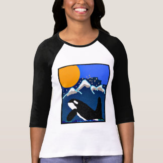 Tributo a la orca Resid meridional de los volantes Camisetas