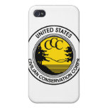 Tributo civil del cuerpo de la protección del CCC iPhone 4 Cárcasa