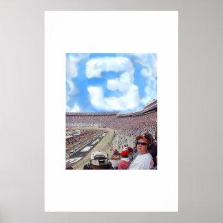 tributo de 3 nubes a Dale Póster