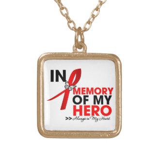 Tributo de la enfermedad cardíaca en memoria de mi joyerias personalizadas